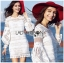 Lady Marion Classy Chic Mixed White Lace Dress L242-79C06 thumbnail 11
