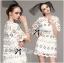 Chloe Spring Flower Asymmetric Guipure Lace Dress thumbnail 5