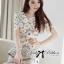 DR-LR-212 Lady Vivid Floral Lace Mini dress, Partysu Korea thumbnail 5