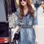 Lady Jennifer Sporty Chic Denim Mini Dress L255-79C15 thumbnail 5