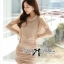 DR-LR-180 Lady Christine Sophisticated Sexy Dress in Nude thumbnail 9