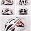 หมวกกันน๊อค จักรยาน BikeBoy สีแดงขาว พร้อมกระเป๋า BikeBoy thumbnail 1