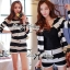 DS-PP-020 Lady Eva Chic Bold Striped Set thumbnail 7