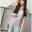 Lady Rachel Rainbow Pastel Striped Lace Set L263-7908 thumbnail 7