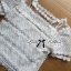 Lady Helena Sweet Casual Lace Top and Printed Skirt Set L162-85E01 thumbnail 8