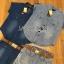 Lady Cindy Little Western Cowboy Denim Shirt and Shorts Set with Belt L262-8507 thumbnail 13