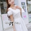 DR-LR-071 Lady Charlotte Gorgeous Little White Lace Dress thumbnail 11