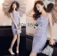 Lady Felicia Sexy Feminine Off-Shoulder Lilac Lace Dress L271-7909 thumbnail 9