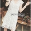 Lady Ellie Casual Chic White Daisy Lace Dress L268-7506 thumbnail 3