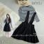 เซ็ตเสื้อริ้วแขนยาวคอกลมผ้าคอตตอนนิ่มใส่พอดีตัว มาพร้อมกับเอี้ยมผ้าซาร่า thumbnail 3