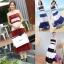Maxi dress ผ้าชีฟอง แขนกุด มีซับใน สีทูโทน thumbnail 4