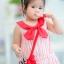 Lovely Crab Dress ชุดเดรสเด็กสีแดง thumbnail 6