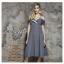 Dress สายเดี่ยวสีเทา แต่งคัตติ้งดีเทล thumbnail 3
