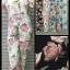 จั้มสูทหมีลายดอกกระดุมหน้า thumbnail 5