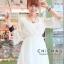 V neck sleev mini dress C170-63A02 thumbnail 3