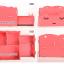 กล่องใส่ของจุกจิก DIY Cosmetic Box กล่องจัดระเบียบเครื่องสำอางบนโต๊ะ Box 001 thumbnail 5