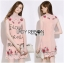 Dolce & Gabbana Sequin Rose Embroidered Pink Dress L195-89C01 thumbnail 1