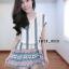 เดรสชีฟอง สไตล์สาวเกาหลีน่ารักๆ พร้อมเชือกผูกเอวเปนโบว์ thumbnail 5