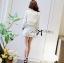 DS-PP-049 Lady Gisele Chic Brocade Jacket and Shorts Set thumbnail 7