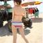SM-V1-237 ชุดว่ายน้ำแฟชั่น คนอ้วน เด็ก ดารา thumbnail 4