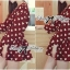 DR-LR-291 Lady Dree Monochrome Heart-Shaped Print Mini Dress thumbnail 11