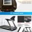 เครื่องลู่วิ่งไฟฟ้า สำหรับศูนย์ฟิตเนส Fitness X5 Light Commercial Treadmill 4.5HP thumbnail 3