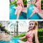 SM-V1-247 ชุดว่ายน้ำแฟชั่น คนอ้วน เด็ก ดารา thumbnail 6