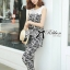 DS-PP-035 Lady Margaret Casual Chic Graphic Print Lace Jumpsuit thumbnail 8