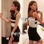 DR-LR-056 Lady Charice Sexy Lusty Body Con Mini Dress thumbnail 2