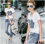 Lady Coco Camellia Denim Embroidered T-Shirt and Skinny Jeans Set L263-8904 thumbnail 1