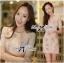 DR-LR-172 Lady Grace Sweet Pastel Mini Flower Printed Dress thumbnail 1