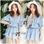 DR-LR-096 Lady Eugene Baby Blue Bohemian Dress thumbnail 13