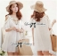 DR-LR-222 Temperley London Giovanna Embellished White Tunic Dress thumbnail 1