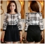 Lady Kim Smart Casual Check Embroidered Playsuit L272-7504 thumbnail 1