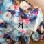 Lady Katie Dreamy Colourful Printed Layered Chiffon Top and Satin Shorts Set L166-79C11 thumbnail 13