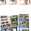 SM-V1-127 ชุดว่ายน้ำแฟชั่น คนอ้วน เด็ก ดารา thumbnail 4