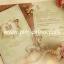 การ์ดแต่งงาน ADORA สองพับ (B0258) thumbnail 1