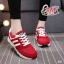 รองเท้าผ้าใบแฟชั่นลำลอง เสริมส้นเล็กน้อย ทรง Sport thumbnail 6