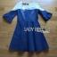 Lady Julia Feminine Ballet Lace and Denim Dress L207-79C02 thumbnail 8
