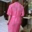 SL-I1-170 ชุดนอนเซ็ตชุดคลุม เสื้อคลุมเป็นผ้าซีฟอง thumbnail 14