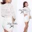 Lady White Crochet See-through Set L211-79C07 thumbnail 8