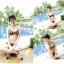 SM-V1-066 ชุดว่ายน้ำแฟชั่น คนอ้วน เด็ก ดารา thumbnail 5