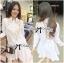 Lady michelle Pretty Flamingo Embroidered Shirt Dress L147-75E06 thumbnail 3