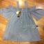 Lady Victoria Casual Chic Off-Shoulder Soft Denim Dress L264-6922 thumbnail 13