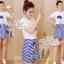 Set cartoon T-shirt embroidered skirt cute by Aris Code thumbnail 6