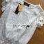 Lady Rachel Classic Vintage White Lace Blouse L274-6914 thumbnail 8