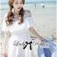 DR-LR-069 Lady Lara Sweet Casual Cotton Lace Mini Dress thumbnail 3