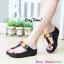 รองเท้าพื้นยางสไตล์ ฟิทฟลอบ คาดดอกไม้ thumbnail 4