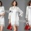 Lady Jane Classic Feminine Combined Lace Shirt Dress thumbnail 1