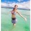 SM-V1-075 ชุดว่ายน้ำแฟชั่น คนอ้วน เด็ก ดารา thumbnail 2